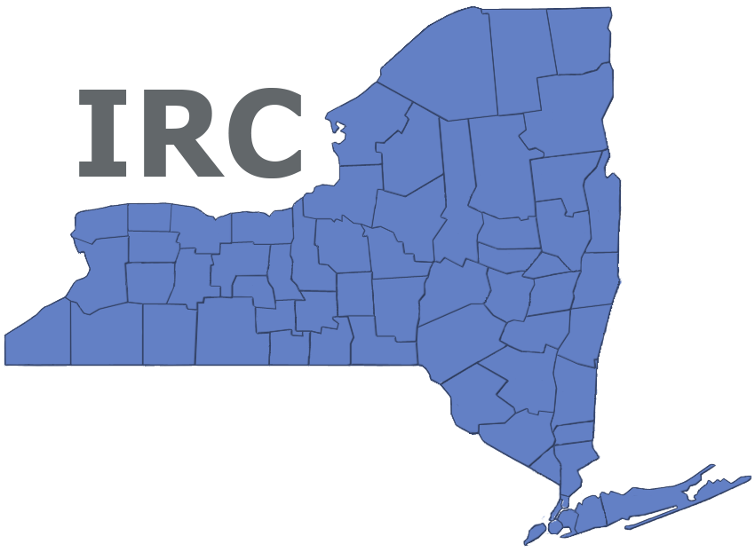 New York State Independent Redistricting Commission Logo